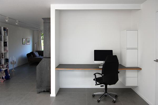 Wim s werkplek architectuur maken rotterdam architect - Coin bureau ontwerp ...