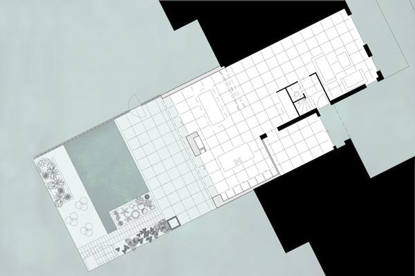 plattegrond verbouwing huis