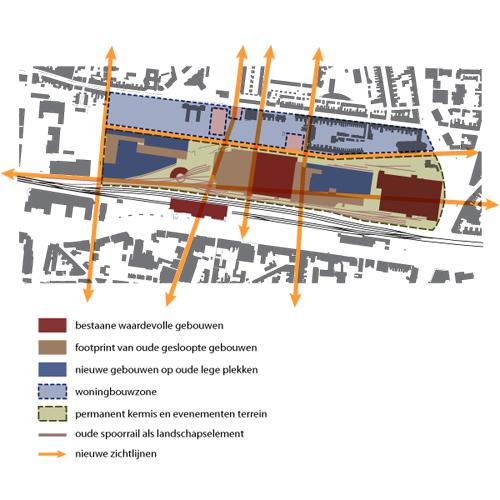 spoorzone tilburg masterplan