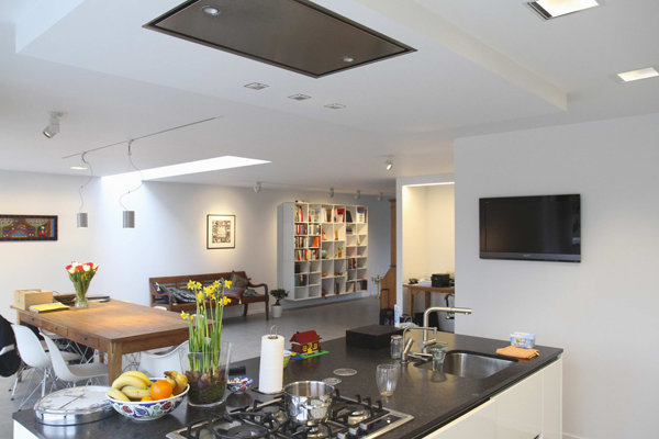keuken verbouwing modern woonhuis