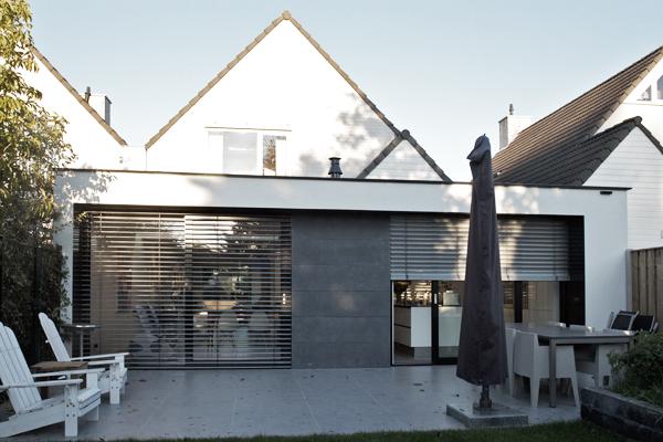 gevel verbouwing woonhuis eindhoven