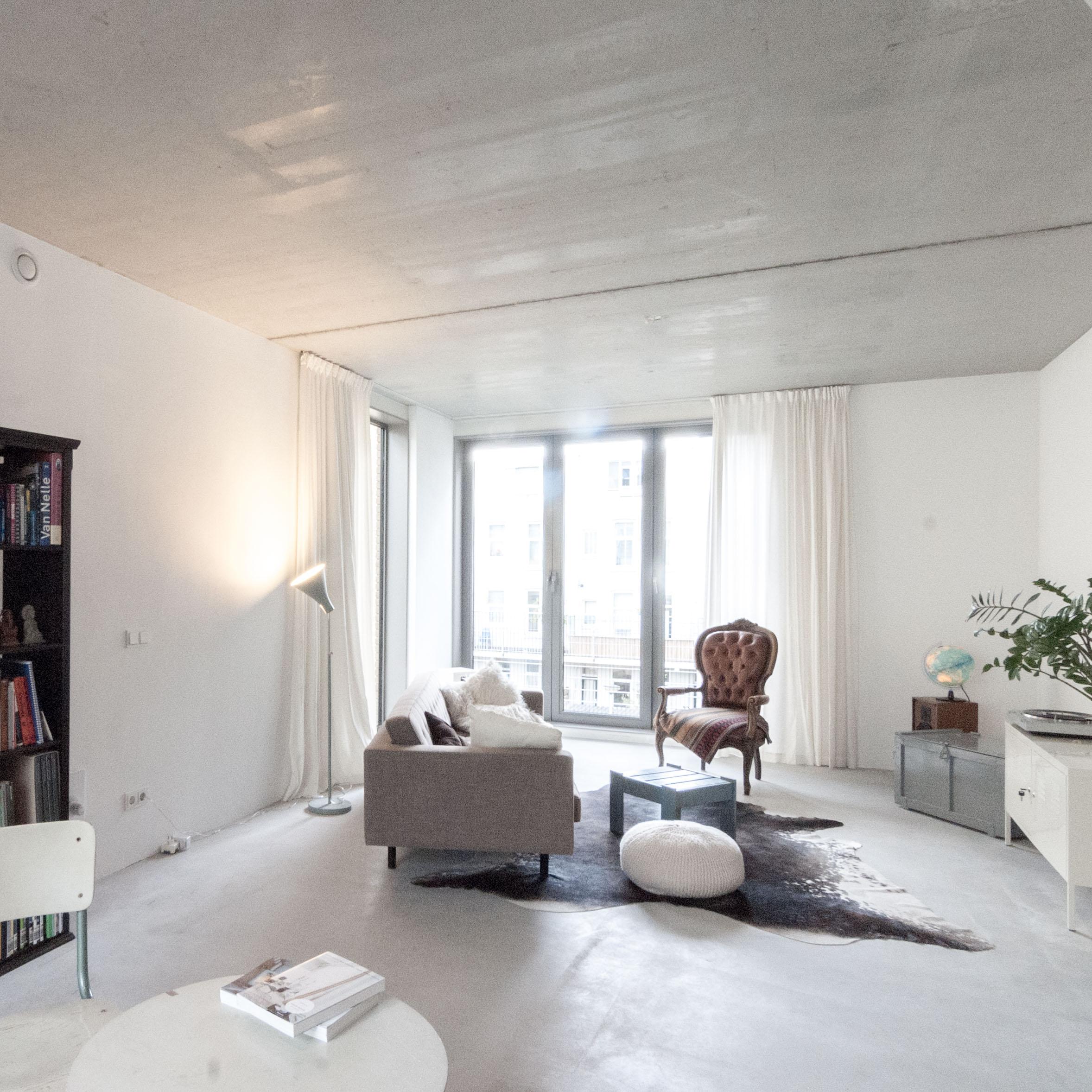 woonkamer architectuur maken