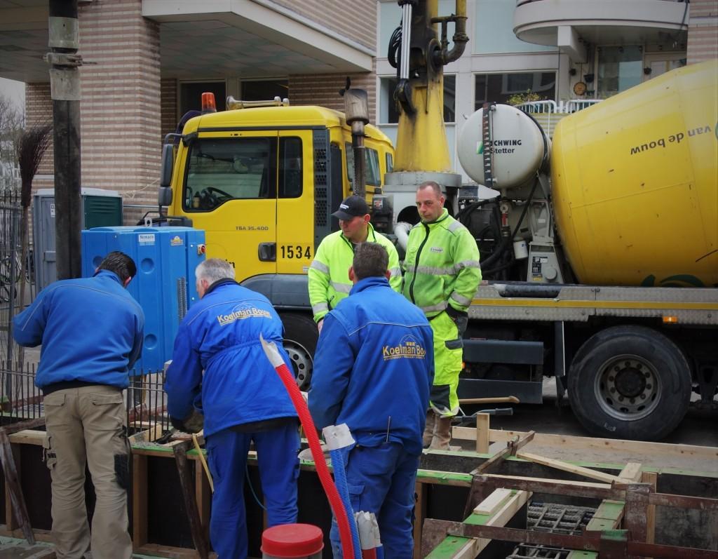 mannen op de bouw