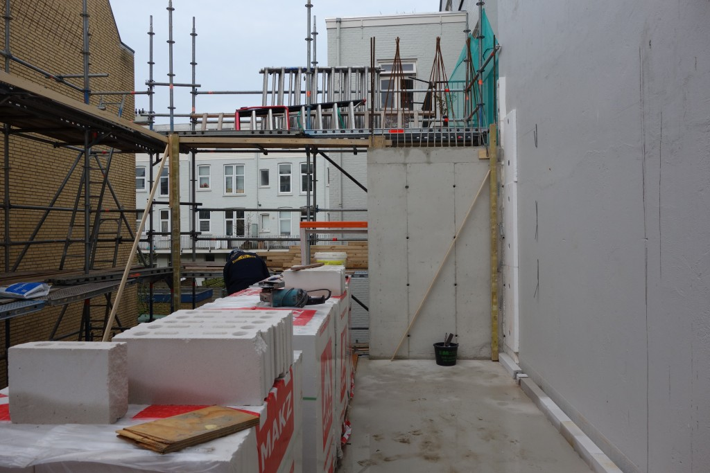 bouw architectuur maken beton