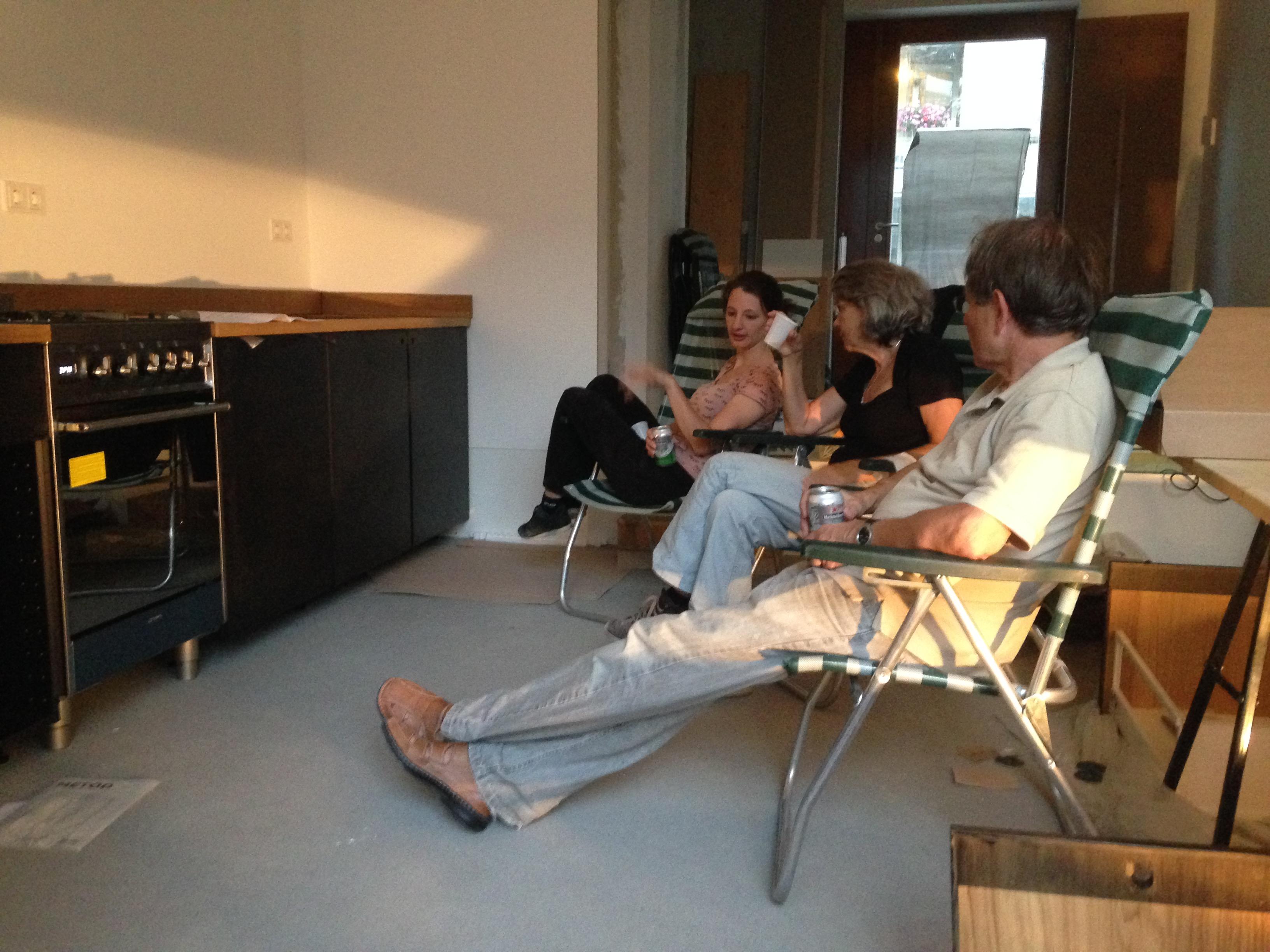 zelfbouw keuken