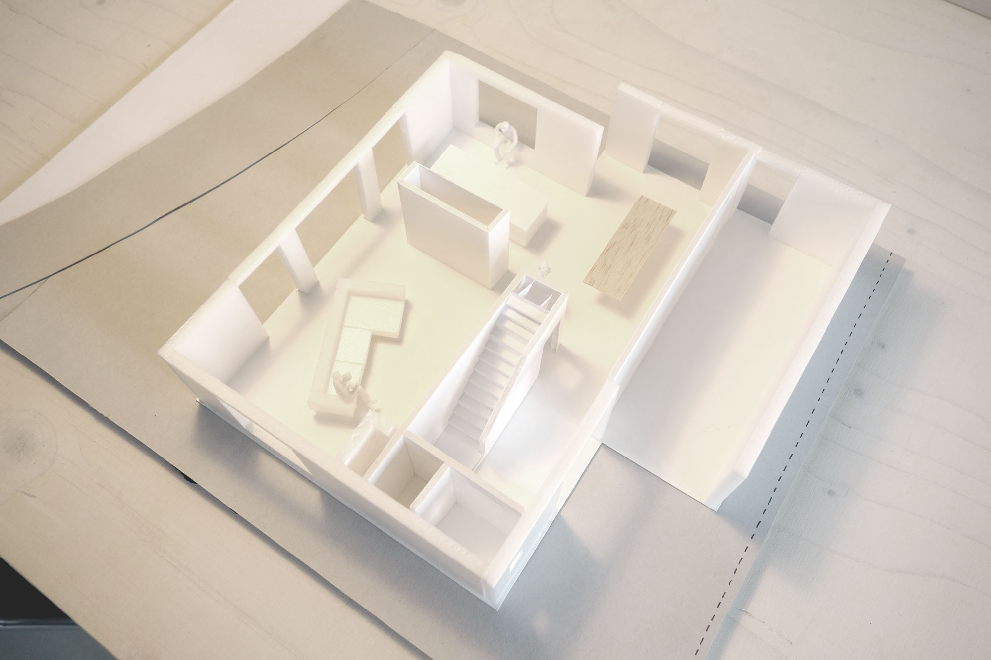 maquette_vrijstaand_huis_architectuur