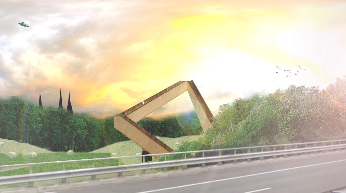 Uitzichttoren_DeNieuweHerdgang_snelweg