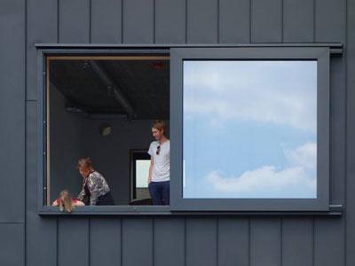 architectuur felsplaat schuifraam modern amsterdam