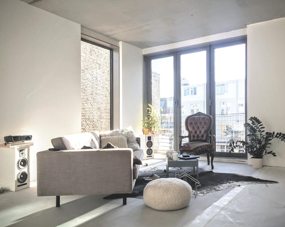 architectuur zelfbouw interieur woonkamer
