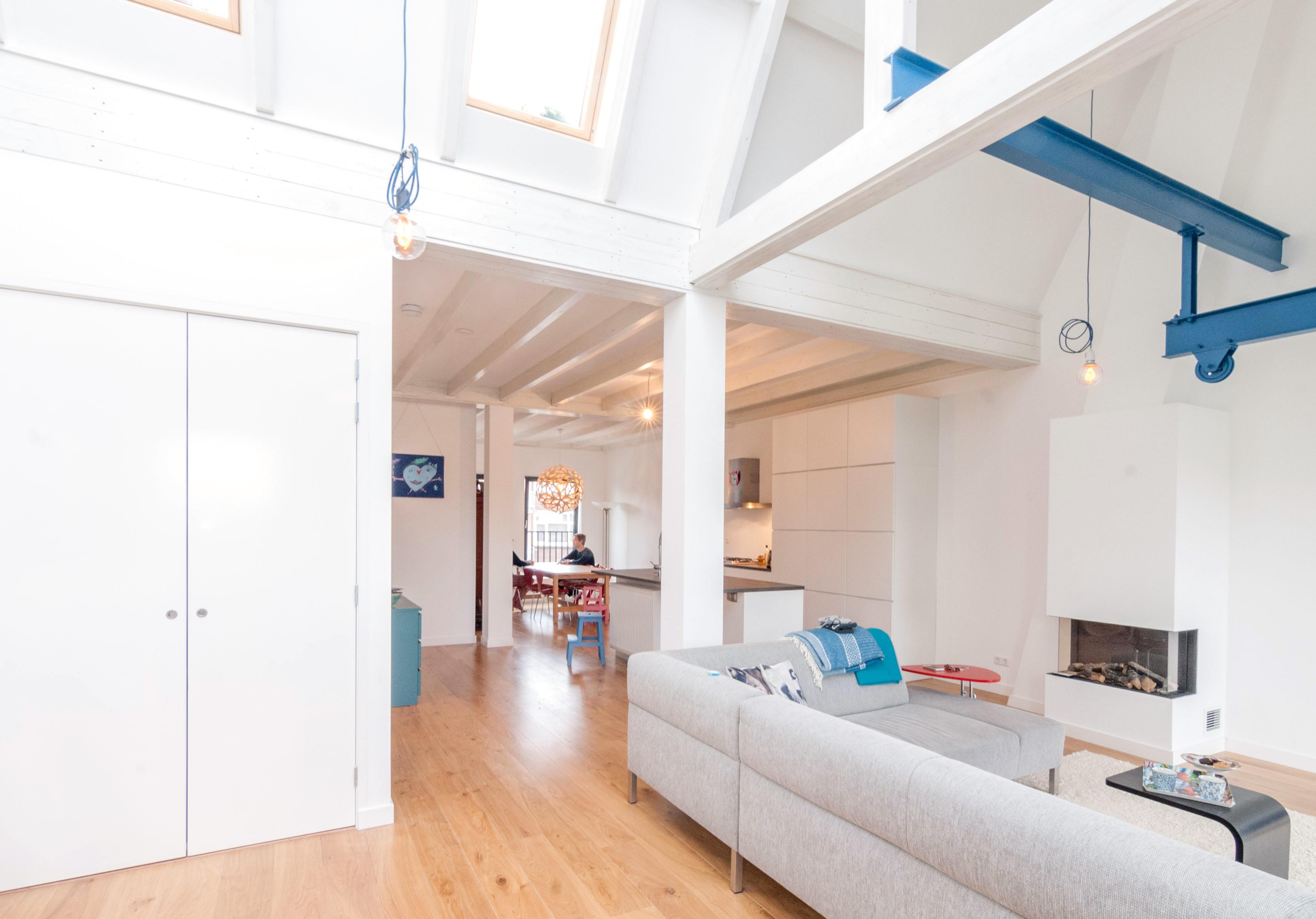 loft woonkamer architect architectuur Rotterdam