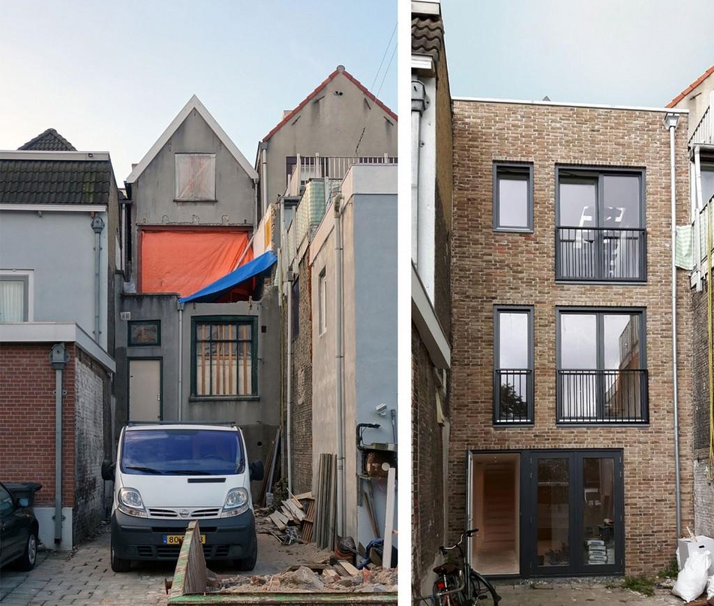 Schiedam_verbouwing_achtergevel architect leegstand renovatie