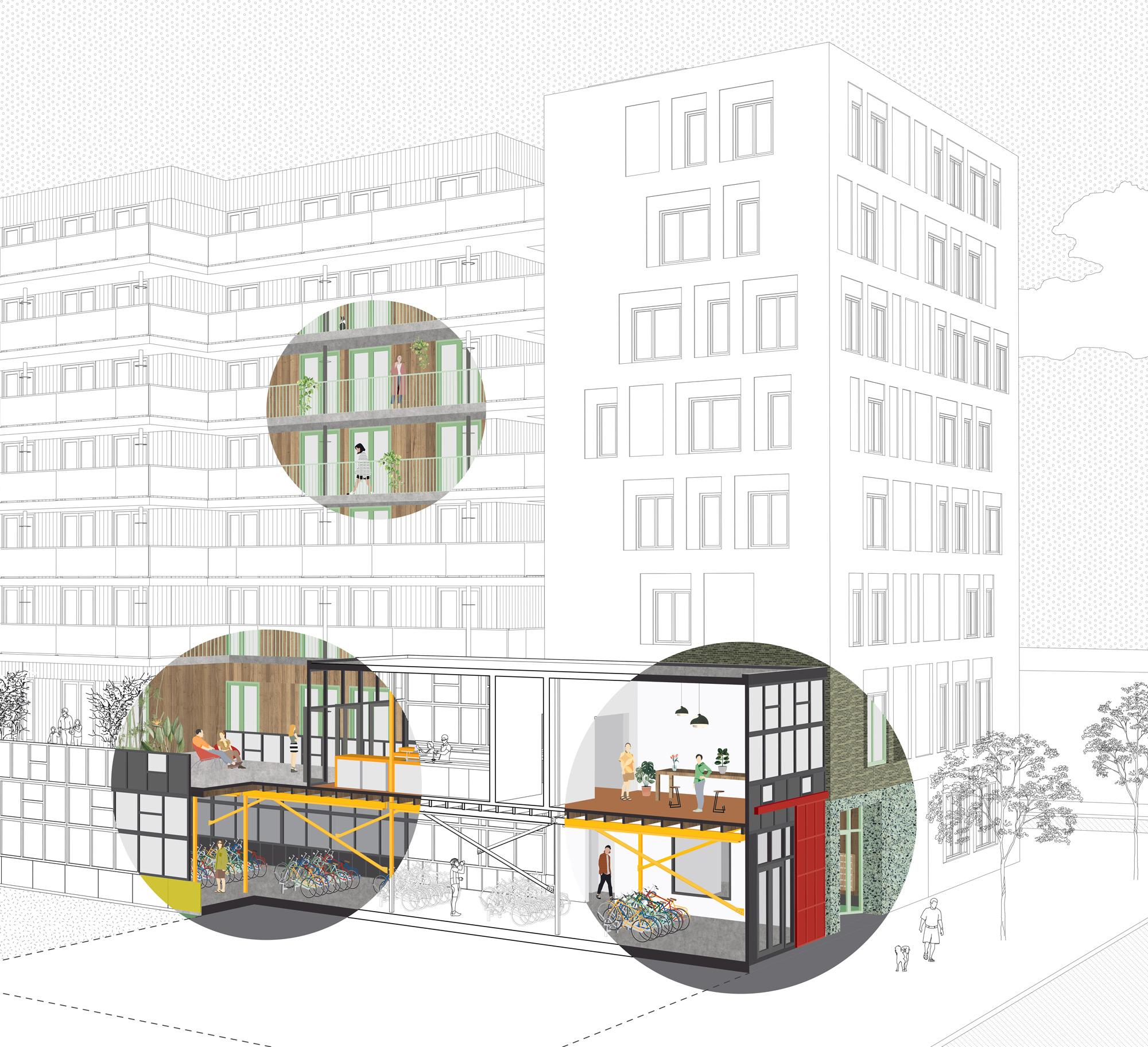 oostenburg_architect_galerij_groen-gebouw_green-building_bicycles_4