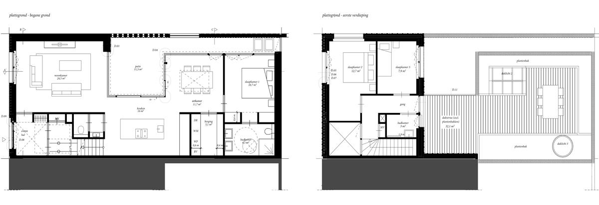 CPO_woonhuis_plattegrond