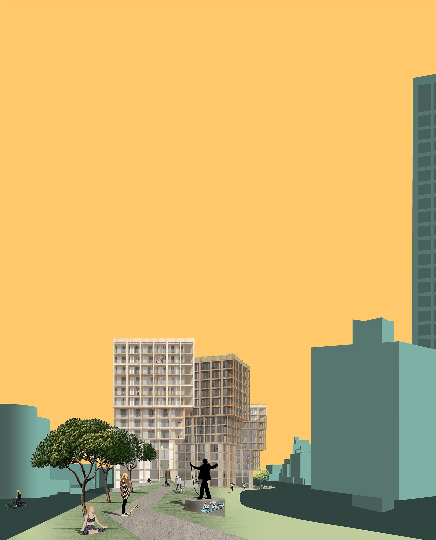gezonde_stad_op_kop_lee_towers_marconitorens_gevel_hout